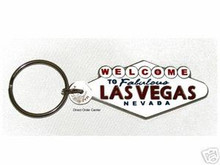 Welcome To Las Vegas Sign Key Ring