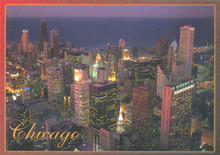 Chicago Sears Tower Postcard