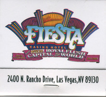 Fiesta Casino Las Vegas Match Book