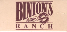 Binion's Horseshoe Ranch Match Box