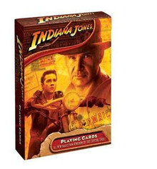 Indiana Jones Playing Cards Kingdom of Crystal Skull