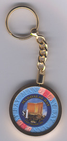 Mandalay Bay Las Vegas Casino Chip Key Chain