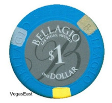 Bellagio $1 Casino Chip Las Vegas