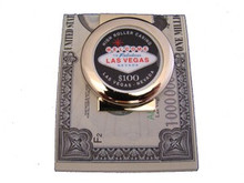 Las Vegas High Roller $100 Chip Money Clip