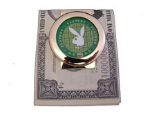 Playboy Green Chip Money Clip