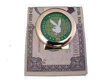 Playboy Green Chip Money Clip