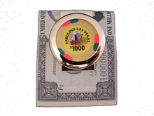 Fabulous Las Vegas $1000 Chip Money Clip
