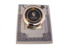 Caesars Palace Black Chip Money Clip