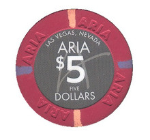 Aria $5 Casino Chip