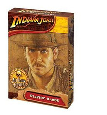 Indiana Jones Playing Cards All 4 Movies