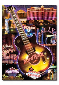 Las Vegas Hotels Hard Rock Postcard
