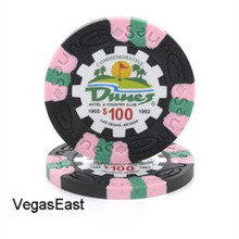 Dunes Hotel Las Vegas $100 Commemorative Casino Chip