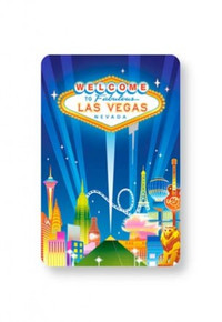 Las Vegas Skyline Playing Cards