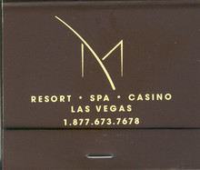 M Casino Las Vegas Matchbook