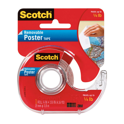 3m Company MMM109 Tape Poster Removable 3 / 4 X 150 Clear