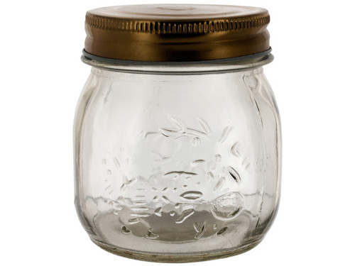 10.25 oz. Glass Mason Jar with Twist Lid