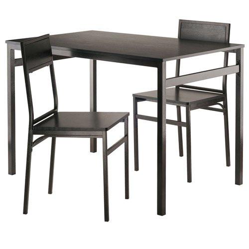 Winsome Wood 20343-WW Furniture Piece Milton 3-Pc Set Dining Table w/  sc 1 st  Dejavujewelry.com & Winsome Wood 20343-WW Furniture Piece Milton 3-Pc Set Dining Table w ...
