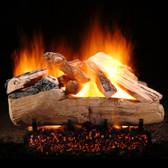 "Hargrove Western Pine Vented Gas Log Set 18"""