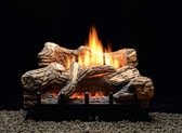 "Empire Flint Hill Gas Log Set with Vent-Free/Vented Contour Burner 24"" Millivolt"