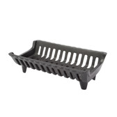 G Series Franklin 15 1/4 in. 'Flat Bottom' Cast Iron Fireplace Grate