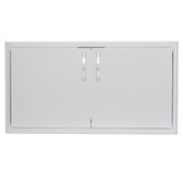 BLZ-AD40-R Blaze 40 Inch Double Access Door With Paper Towel Dispenser