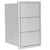BLZ-DRW3-R Blaze 16 Inch Triple Access Drawer
