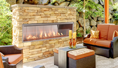 SUPERIOR VRE4636 OUTDOOR LINEAR FIREPLACE 36""