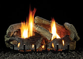"EMPIRE 18"" STACKED AGE OAK LOGS 8 PIECE LS-18SRAO"