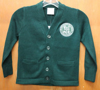 Adult Cardigan Sweater- De La Salle