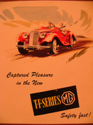 1954 MG TF series