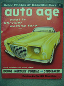 1956 Ferrari Monza, 4.4 , 4.9 tested,Comparison Dodge Pontiac Stude Merc