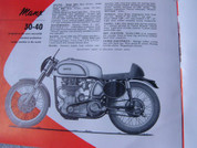 1956 Norton motorcycle 350 500 600