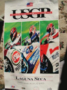 1993 US motorcycle grand prix official poster