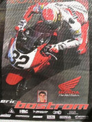 Eric Bostrom Honda racing poster