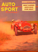 Sept.1952 Auto Sport Review,Siata road test