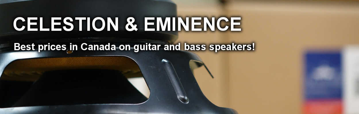 Celestion & Eminence Speakers