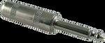 "Switchcraft #280 - 1/4"" Mono Straight Plug"