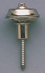 Dunlop Flush Mount Strap Locks - Nickel (pair)
