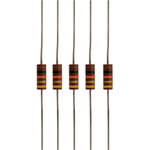 1/2W Carbon Comp Resistors (Pkg 5)