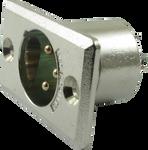 Switchcraft D3M - XLR Male Panel Jack