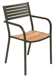 Segno Arm Chair - Teak
