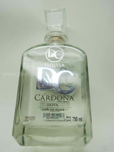 Don Cardona Silver Tequila Www Oldtowntequila Com