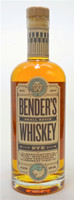 Benders Small Batch Rye Whiskey