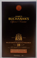 James Buchanan's Epecial Reserve 18 years