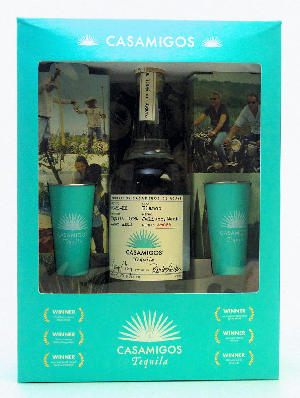 CASAMIGOS TEQUILA BLANCO Gift Set - www.oldtowntequila.com