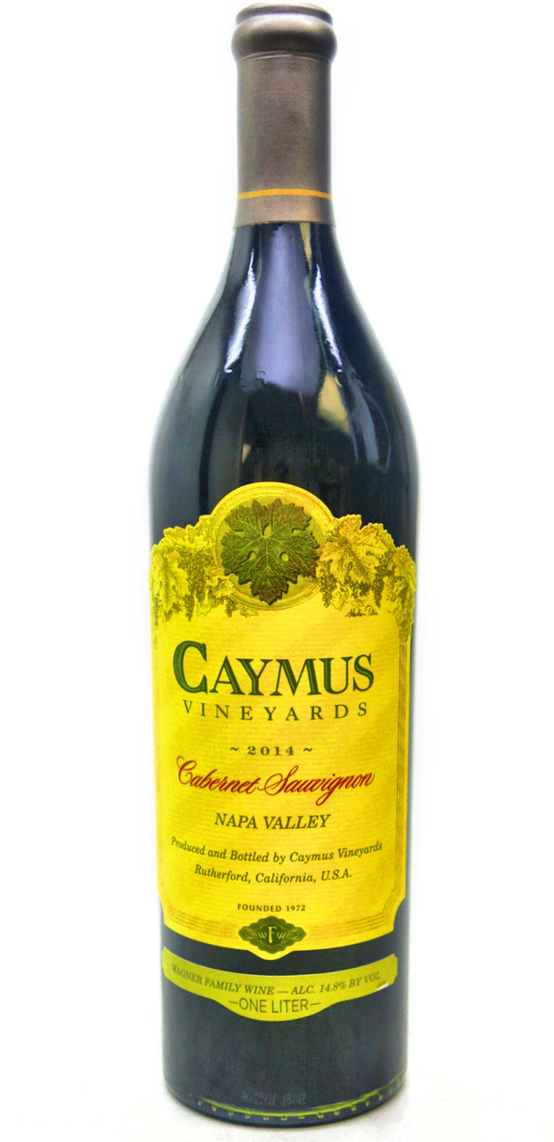 Caymus Vineyards Cabernet Sauvignon 2014 (1 Litre)
