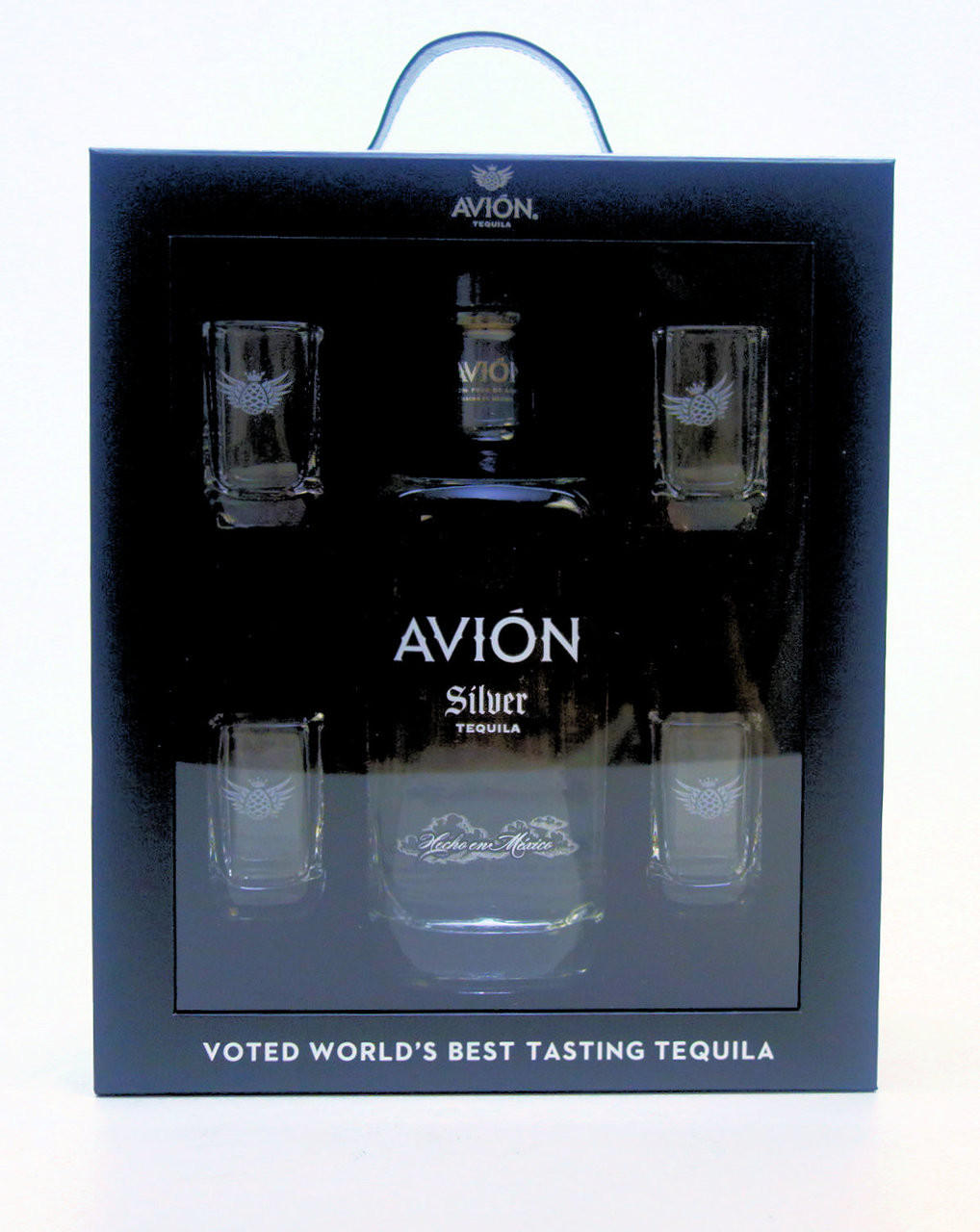 Avion Silver Tequila Gift Set - www.oldtowntequila.com