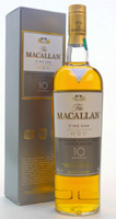 THE MACALLAN SINGLE MALT SCOTCH 10 YEAR