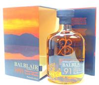 Balblair 1991 Whisky Single Malt