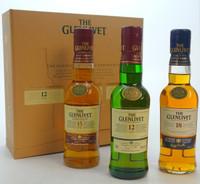 Glenlivet Tasting Kit Gift Set (3 bottles 200 mL each)